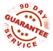 90 day service guarantee